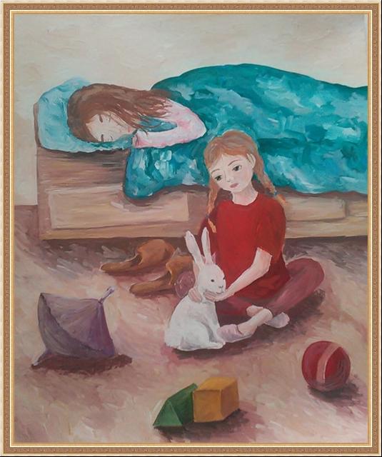 Иллюстрации к стихотворению мама спит она устала