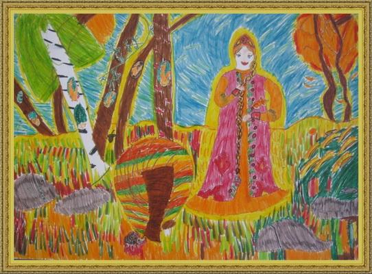 Картинки золотая осень репин