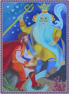 болдуина картинки из оперы садко нарисовать желтый бутон